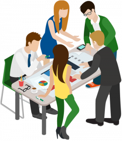28+ Collection of Business People Meeting Clipart | High quality ...