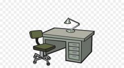 Cartoon Cartoon clipart - Desk, Furniture, Office ...