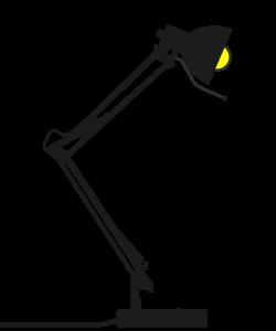 Clipart - Desk Lamp Speed Designed