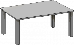 Alluring Rectangle Table Clipart 3 7 | onlyhereonlynow.com