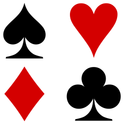 Suit (cards) - Wikipedia, the free encyclopedia   Casino Theme Party ...
