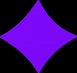 Purple Diamond Clip Art at Clker.com - vector clip art online ...