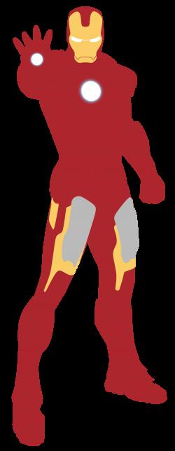 Minimalist Iron Man by Mirigiry on DeviantArt