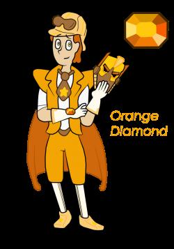 Image - Orange Diamond.png | Steven Universe Wiki | FANDOM powered ...