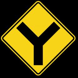Warning Signs - Y Symbol-W2-5, SKU: X-W2-5