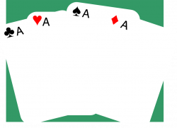 Cards | Free Stock Photo | Illustration of four aces in a standard ...