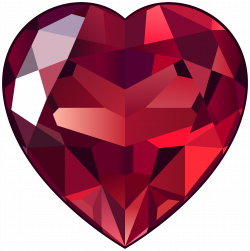 Ruby Heart PNG Clipart - Best WEB Clipart