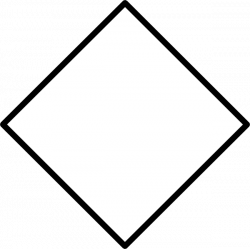 White Diamond Sign Clip Art at Clker.com - vector clip art online ...