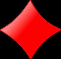 Clipart - Card symbols: Diamond
