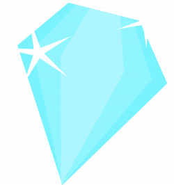 Clipart - Light blue diamond