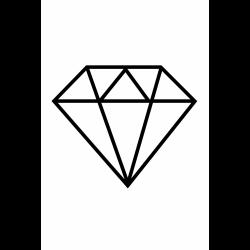 diamond.stencil.png (1200×1200)   Tablolar   Pinterest   Traditional ...
