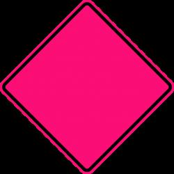 File:Diamond warning sign (fluorescent pink).svg - Wikipedia