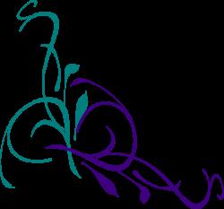 Floral Swirl SVG Downloads - Flowers - Download vector clip art ...