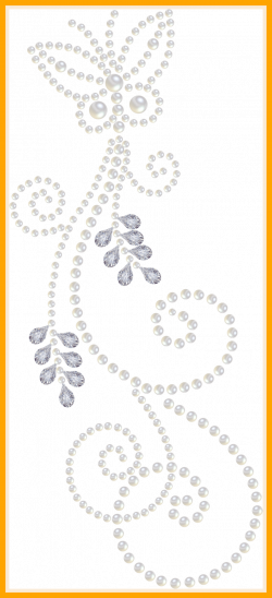 Marvelous Another Pearl And Diamond Clipart Nice Swirls Artsy In The ...