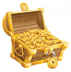 Treasure Chest PNG Clipart Picture | Pirate clip | Pinterest ...
