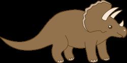 HD Brown Dinosaur Clipart Transparent PNG Image Download ...