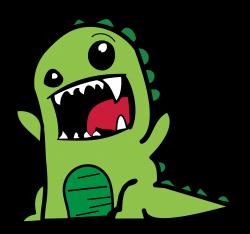 Clipart - Rawr Dinosaur