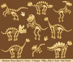 Dinosaur Bones Clipart, Dinosaur Clip Art, Dinosaur Clipart ...