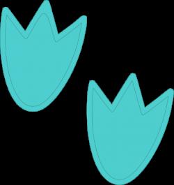 Blue Dino Feet Clip Art at Clker.com - vector clip art online ...