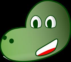 Dinosaur Head Clip Art at Clker.com - vector clip art online ...