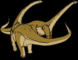 Clipart - Alamosaurus dinosaur