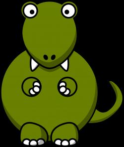 Clipart - Cartoon tyrannosaurus rex