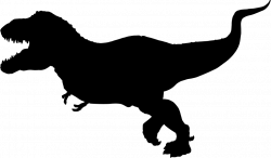 T Rex Silhouette Clip Art Free at GetDrawings.com | Free for ...