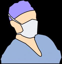 Cartoon Doctor Mask Clipart
