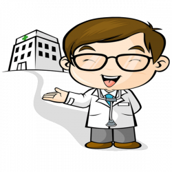 Funny Doctor Cartoon Clipart