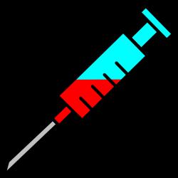 OnlineLabels Clip Art - Syringe Icon