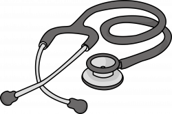 28+ Collection of Stethoscope Clipart Black And White | High quality ...