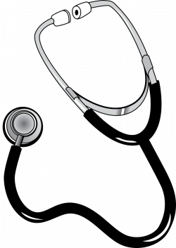 Public Domain Clip Art Image | Illustration of a stethoscope | ID ...