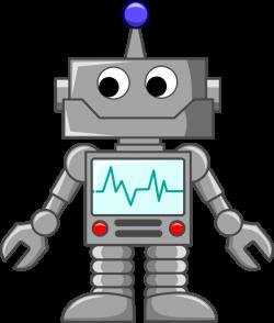 Public Domain Clip Art Image   Cartoon robot   ID: 13539934212140 ...