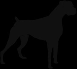 Boxer Dog Clipart - ClipartBlack.com