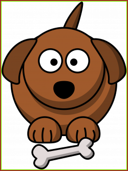 Amazing Puppy Clipart Easy Dog Pencil And In Color Of Cartoon ...