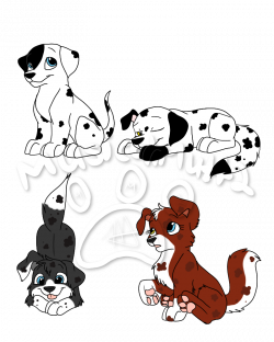 All patched up: MarshallXRosie pups | PAW Patrol Fanon Wiki | FANDOM ...