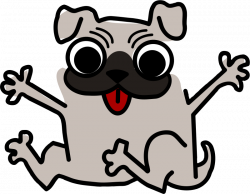 Pug Clipart   Free download best Pug Clipart on ClipArtMag.com