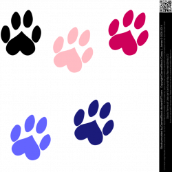 Dog paw print Clipart png transparent - Cerca con Google | dogs ...