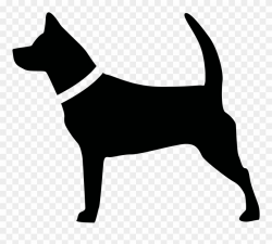 Big Image - Dog Silhouette Clipart (#510842) - PinClipart
