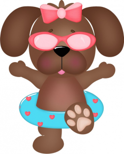 Free Dog Summer Cliparts, Download Free Clip Art, Free Clip ...