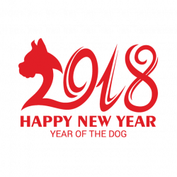 Chinese New Year 2018, Chinese New Year, Happy New Year, 2018 PNG ...