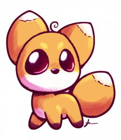 cute fox | cute anime fox drawing | desenhos | Pinterest | baby home ...