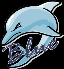 Blue Dolphins Logo
