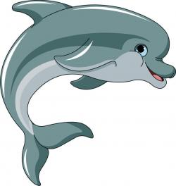 Dolphin Cartoon Flipper Sticker Decal Graphic Vinyl Label V1 ...