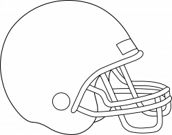 28+ Collection of American Football Helmet Clipart   High quality ...