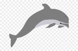 Spinner Dolphin Clipart Grey Dolphin - Short-beaked Common ...