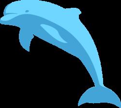 Blue Dolphin Clip Art at Clker.com - vector clip art online, royalty ...