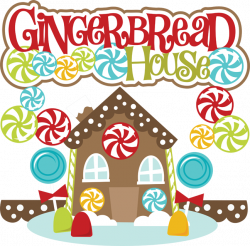 28+ Collection of Gingerbread House Border Clipart | High quality ...