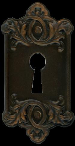 Retro Vintage Door Key Plate for Lock by ~EveyD on deviantART | PNG ...