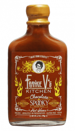 Frankie V's Kitchen - LIMITED EDITION! Chocolate Spooky Hot Sauce 6.7o